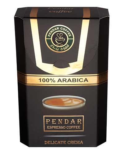 پک قهوه عربیکا صد در صد