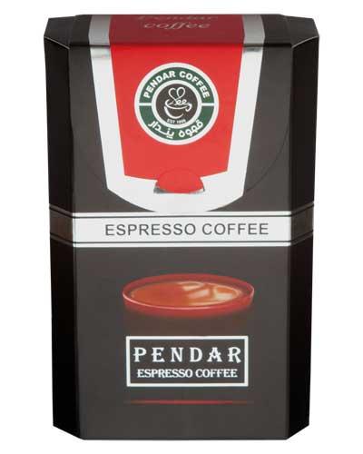 قهوه اسپرسو بسته بندی پندار